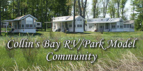 Collin's Bay RV Park Model Community
